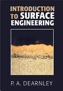 Introduction to Surface Engineering Book