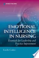 Emotional Intelligence in Nursing Book