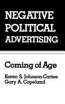 Pdf Negative Political Advertising Telecharger