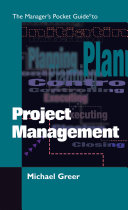 The Manager s Pocket Guide to Project Management