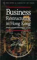 Business Restructuring in Hong Kong