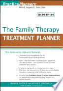 """The Family Therapy Treatment Planner"" by Frank M. Dattilio, Arthur E. Jongsma, Jr., Sean D. Davis"