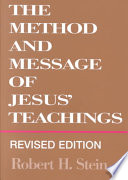 The Method And Message Of Jesus Teachings PDF