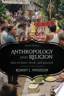 Anthropology and Religion Book