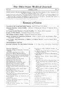 The Ohio State Medical Journal