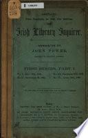 The Irish Literary Inquirer