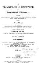 The Edinburgh Gazetteer