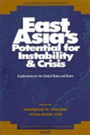 East Asia s Potential for Instability   Crisis