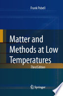 Matter and Methods at Low Temperatures Book