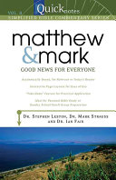 Matthew and Mark