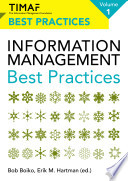 TIMAF Information Management Best Practices   Volume 1 Book