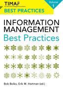 TIMAF Information Management Best Practices   Volume 1