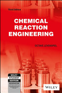 CHEMICAL REACTION ENGINEERING  3RD ED Book