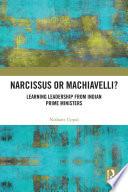 Narcissus or Machiavelli?