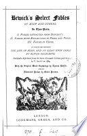 Bewick s select fables of   sop and others