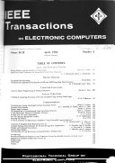 IEEE Transactions on Electronic Computers