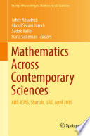 Mathematics Across Contemporary Sciences