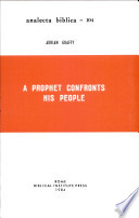 A Prophet Confronts His People