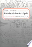 Multivariable Analysis  : An Introduction
