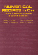 Cover of Numerical Recipes in C++