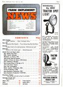 Farm Implement News Book