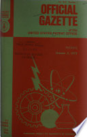 Official Gazette of the United States Patent Office Book
