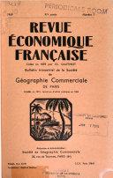 Revue économique française