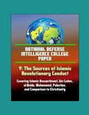 National Defense Intelligence College Paper   Y