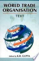 World Trade Organisation Book