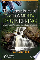 The Chemistry Of Environmental Engineering Book PDF
