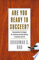 Are You Ready to Succeed  Book