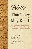 Write That They May Read Pdf/ePub eBook