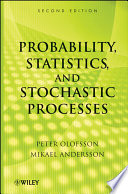Probability Statistics And Stochastic Processes Book PDF