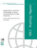 Beyond Public Scrutiny Stocktaking of Social Accountability in OECD Countries Pdf/ePub eBook
