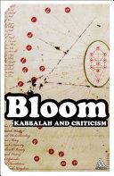 Kabbalah and Criticism