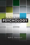 Pdf How to Think Straight About Psychology Telecharger