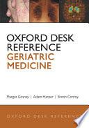 Oxford Desk Reference  Geriatric Medicine