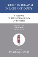 Pdf A History of the Mishnaic Law of Purities, Part 11