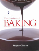 Professional Baking  Textbook and Study Guide Book