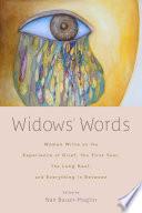 Widows  Words