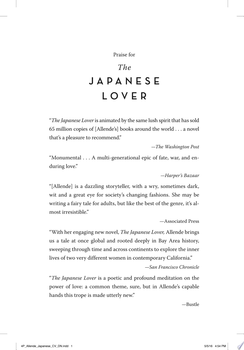 The Japanese Lover image