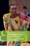The Cambridge Companion to Shakespeare s Language