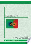 Residual Stresses IX Book