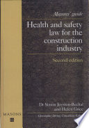 Health and Safety Law for the Construction Industry