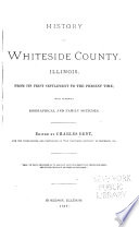 History of Whiteside County, Illinois