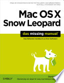 Mac Os X Snow Leopard The Missing Manual [Pdf/ePub] eBook
