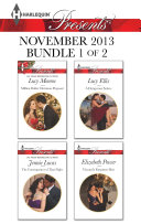 Harlequin Presents November 2013 - Bundle 1 of 2