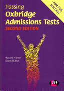 Passing Oxbridge Admissions Tests