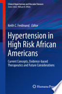 Hypertension In High Risk African Americans Book PDF