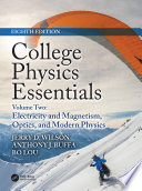 College Physics Essentials  Eighth Edition
